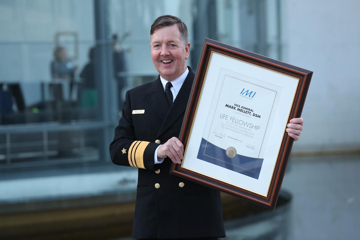 Vice Admiral Mark Mellett