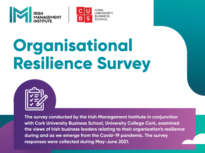 IMI-CUBS Organisational Resilience Survey